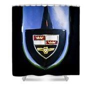 1955 Studebaker President Speedster Emblem -0496c45 Shower Curtain