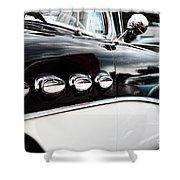 1956 Buick Century Profile 1 Shower Curtain