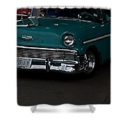 1956 Chevy 210 Shower Curtain