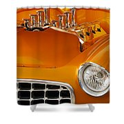 1956 Chrysler Custom 2 Door Sport Wagon Shower Curtain