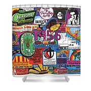 1956 Shower Curtain by David Sutter
