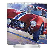 1956 Ferrari 250 Gt Berlinetta Tour De France Shower Curtain