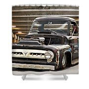 1956 Ford F100 'workingmans' Pickup I Shower Curtain