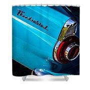 1956 Ford Thunderbird 2 Shower Curtain