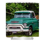1956 Gmc Pickup Shower Curtain