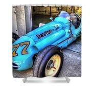 1956 Schroeder Roadster #77 Shower Curtain