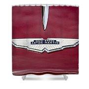 1957 Aston Martin Shower Curtain