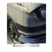 1957 Cadillac Front End Shower Curtain