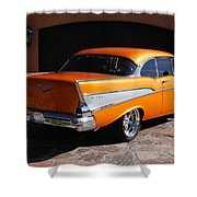 1957 Chevrolet Belair Coupe Shower Curtain