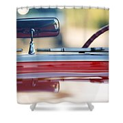 1957 Chevrolet Corvette Convertible  Shower Curtain
