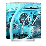 1957 Chevrolet Shower Curtain