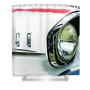 1957 Chevy 210  Shower Curtain