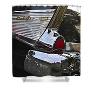 1957 Chevy Bel-air Shower Curtain