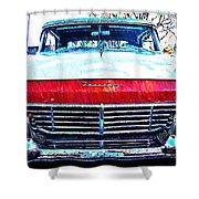1957 Ford Fairlane Shower Curtain