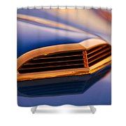 1957 Ford Thunderbird Scoop Shower Curtain