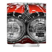 1958 Chevrolet Corvette  Shower Curtain