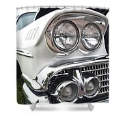 1958 Chevrolet Delray Shower Curtain