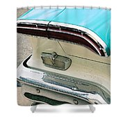 1958 Edsel Pacer Tail Light Shower Curtain
