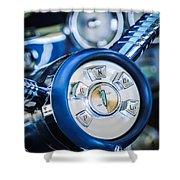 1958 Edsel Ranger Push Button Transmission Shower Curtain