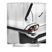 1958 Fin Shower Curtain