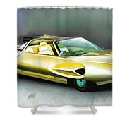 1958 Ford Automobile Shower Curtain