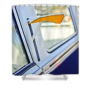 1958 Volkswagen Vw Bus Turn Signal Shower Curtain
