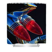 1959 Cadillac Eldorado Tail Fin 3 Shower Curtain