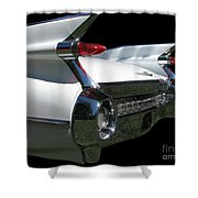 1959 Cadillac Tail Shower Curtain