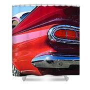 1959 Chevrolet Biscayne Taillight Shower Curtain