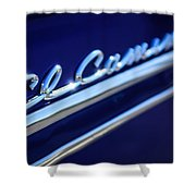 1959 Chevrolet El Camino Emblem -0008c Shower Curtain