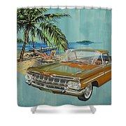 1959 Chevrolet El Camino Shower Curtain