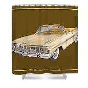 1959 Chevrolet Impala Convertible Shower Curtain
