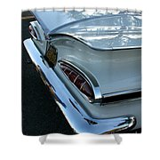 1959 Chevrolet Impala Tailfin Shower Curtain