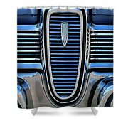 1959 Edsel Villager Grille Shower Curtain