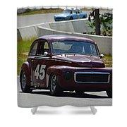 1959 Volvo 544 Shower Curtain