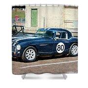 1960 Austin Healey 3000 Shower Curtain