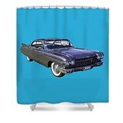 1960 Cadillac - Classic Luxury Car Shower Curtain