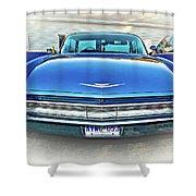 1960 Cadillac - Vignette Shower Curtain