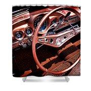 1960 Chevrolet Impala Convertible Shower Curtain