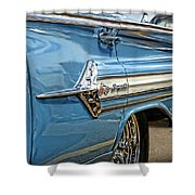 1960 Chevy Impala Shower Curtain
