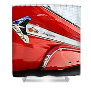 1960 Chevy Impala Low Rider Shower Curtain