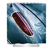 1960 Corvette Taillight Shower Curtain