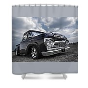 1960 Ford F100 Truck Shower Curtain