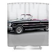 1960 Ford Falcon Sprint Convertible I Shower Curtain