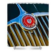 1960 Jaguar Xk150 Roadster 3 Shower Curtain