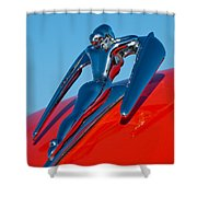 1960 Nash Metropolitan Shower Curtain by Jill Reger