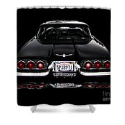 1960 Thunderbird Hardtop Coupe Shower Curtain