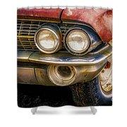 1961 Cadillac Headlight Shower Curtain