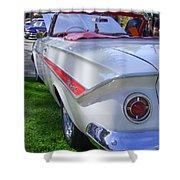 1961 Chevrolet Impala Convertible Shower Curtain