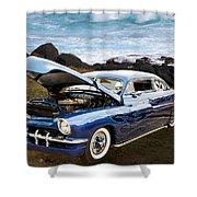 1951 Mercury Classic Car Photograph 005.02 Shower Curtain